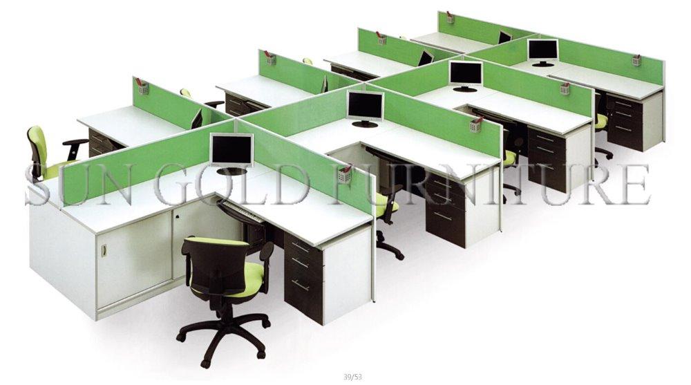 Ufficio moderno fornitore di mobili porcellana modualr for Divisori per ufficio