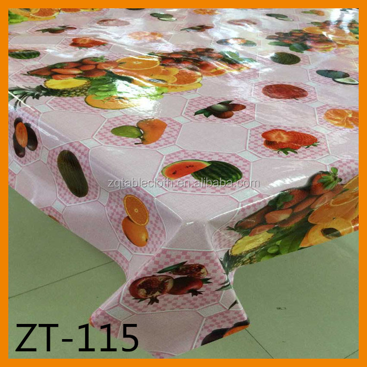 YIWU waterproof vinyl lace table cloth, pvc lace table cloth, lace table cloth roll