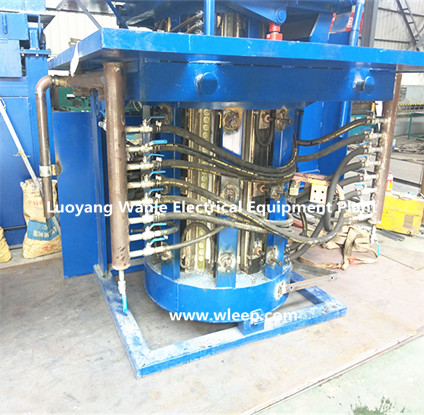 1.5T Steel Shell IF Induction Copper Melting Furnace