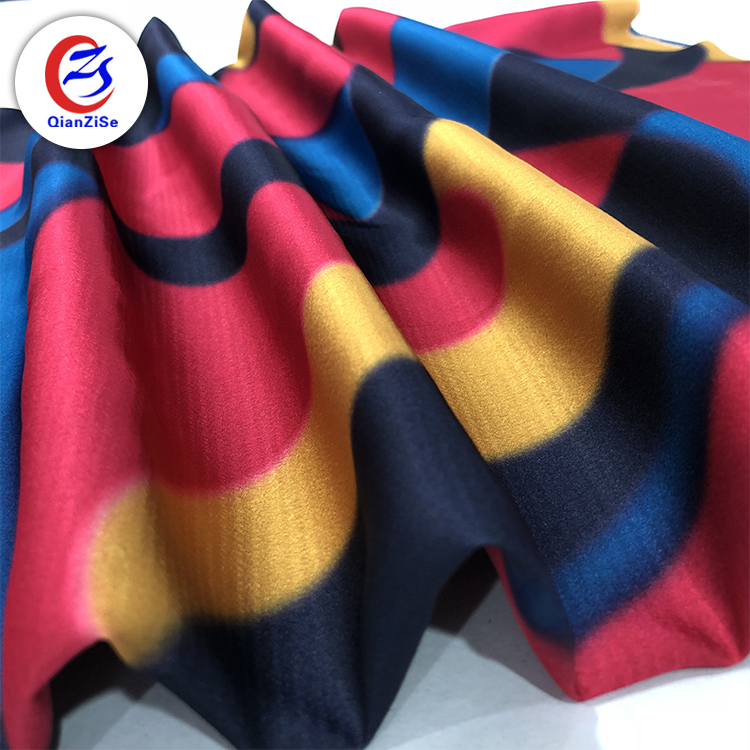 Malaysia stock lots ready goods customized dutch 100 gsm satin fabric