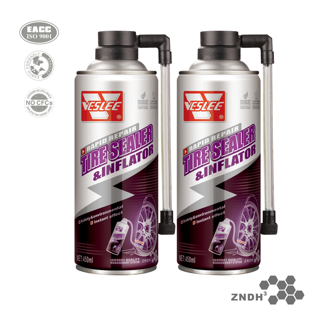 VSL -5A Powerful cleaning for a deep-black look Tire Foam for auto parts