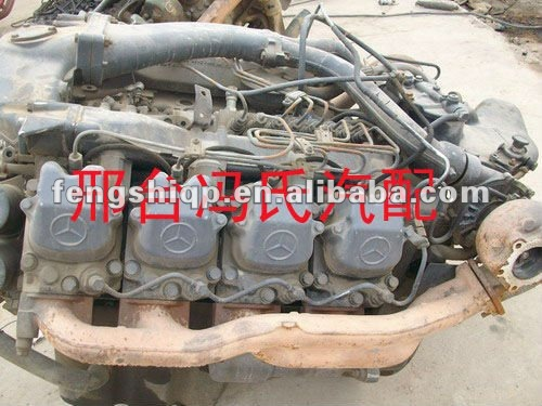 mercedes benz heavy duty truck engines