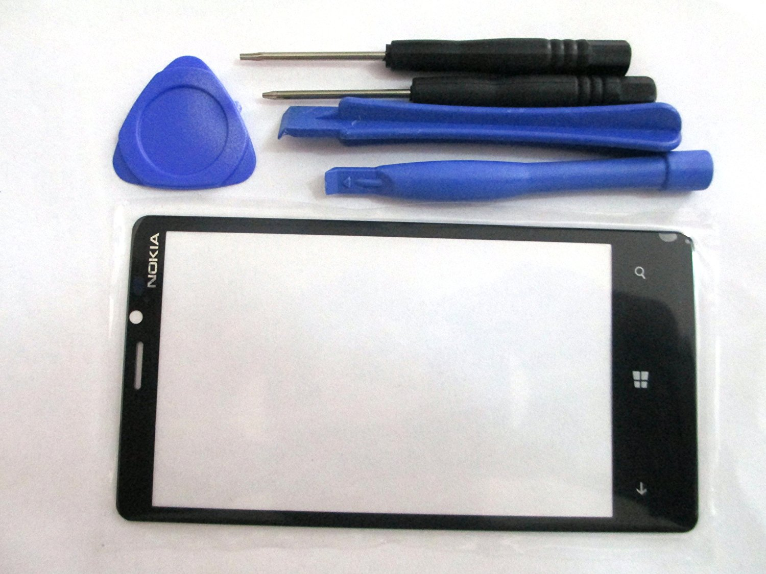 OEM Outer Touch Screen Replacement Lens Front Glass For Nokia Lumia 920 + Tools