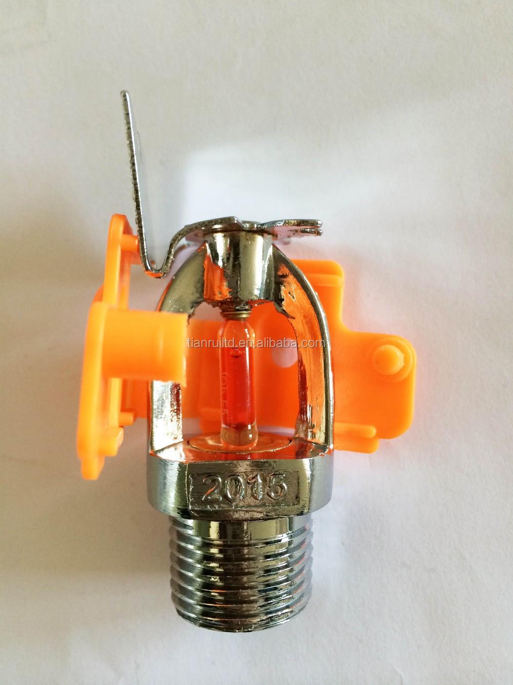 Plastic Orange Protective Cover For Fire Sprinkler Buy