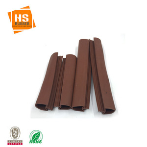 PVC door rubber seal gasket for wooden door