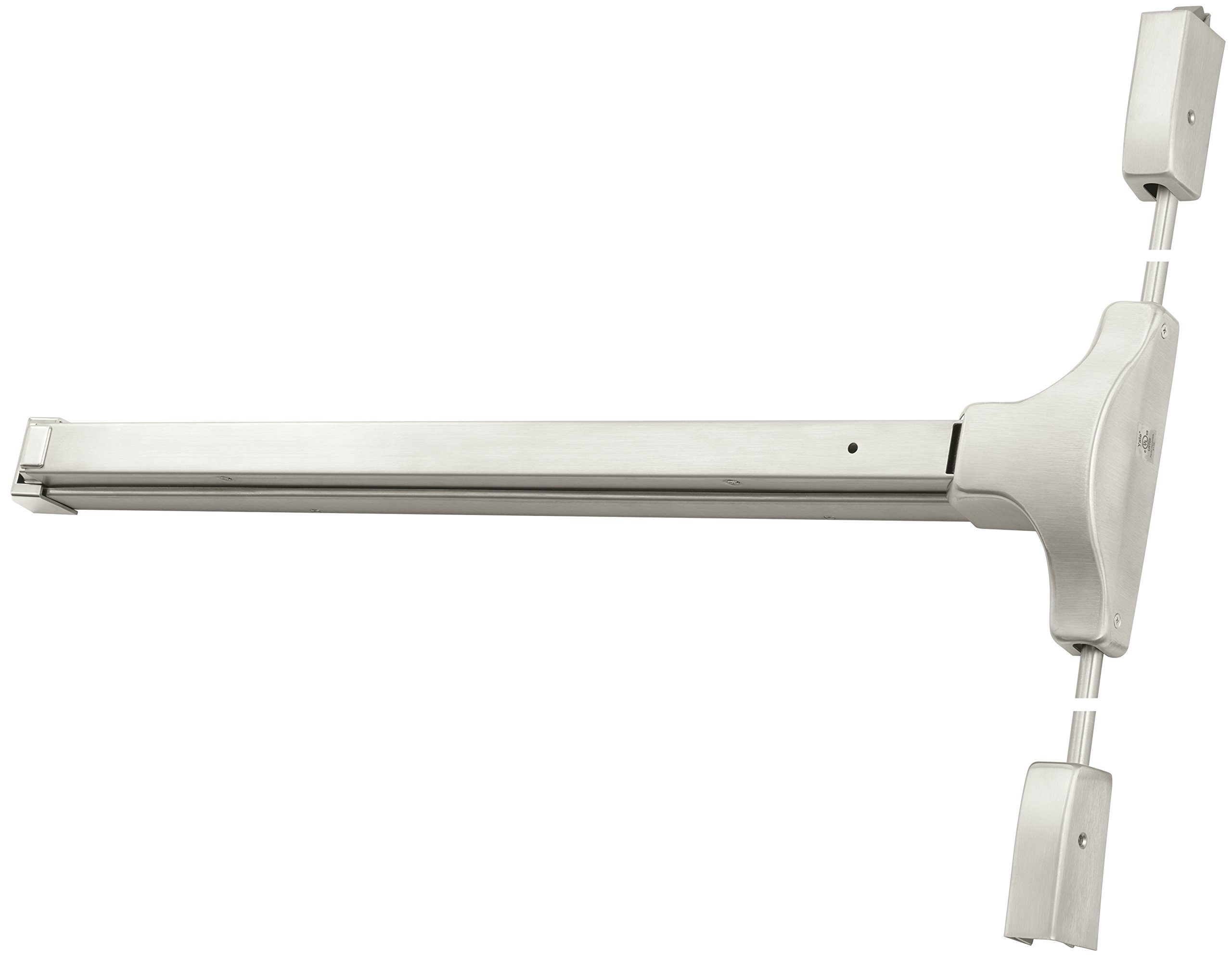 Shipped RHR Field Reversible 695 Satin Bronze Painted Yale 1810-36 x 695 x RHR 1810 Surface Vertical Rod Exit Device