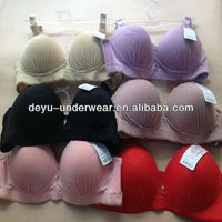 1.46USD 34-38B Cup High Quality Adjustable Fashional Ladies Sexy Bra Without Rim Inside, Fat Women Push Up Sexy Bra(gdwx213)