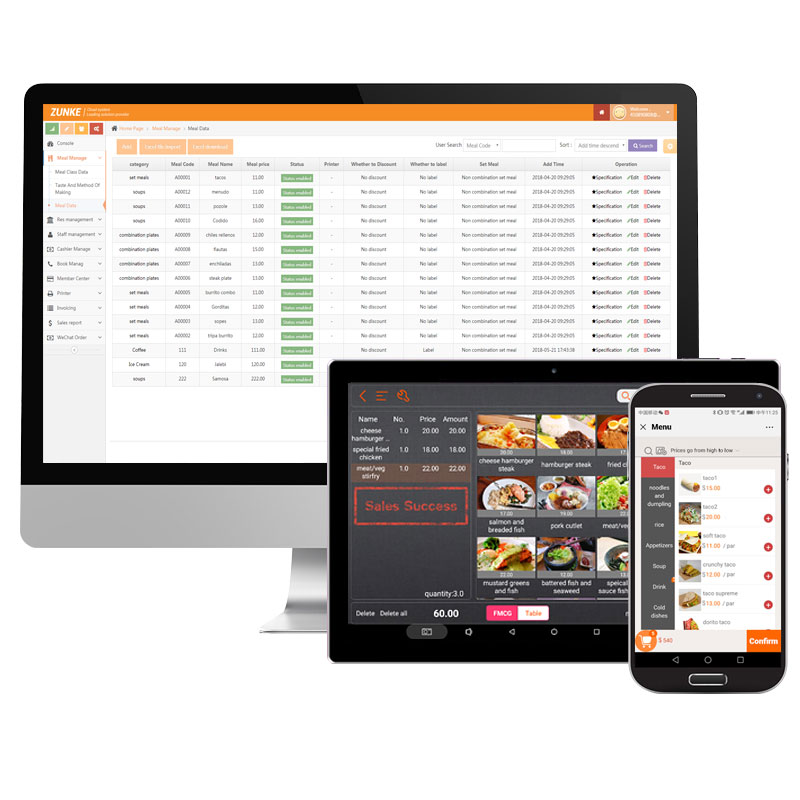 Free Test Retails Pos Software Free Download Multi-language Version  Restaurant Pos System Zk-v8 Software - Buy Free Test Retails Pos  Software,Free