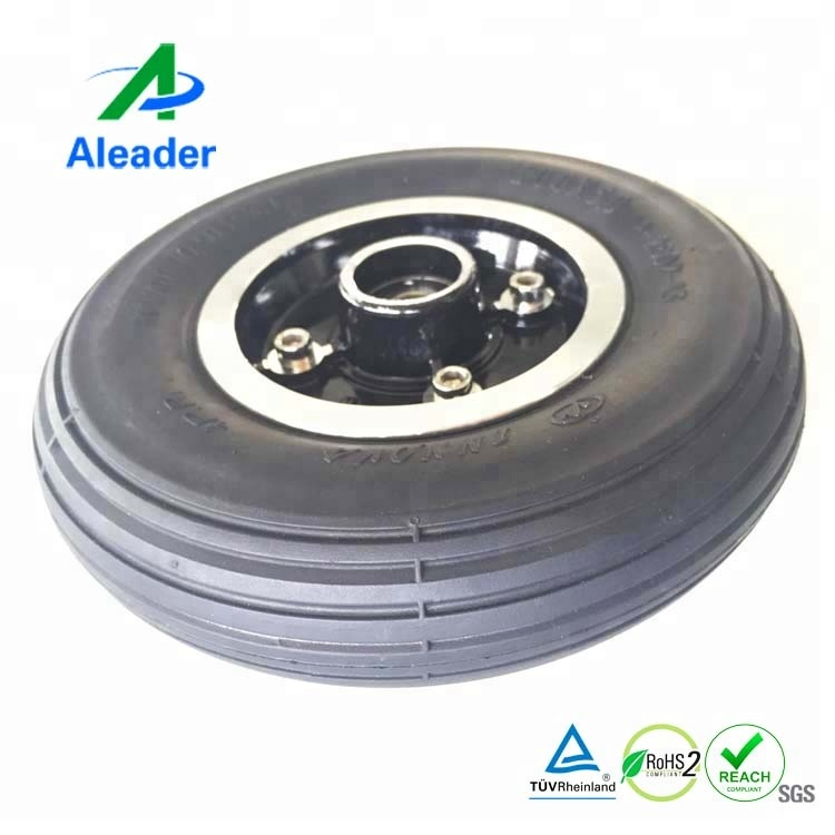 200 50 Wheelchair Wheels Front Tires For Electric Wheelchairs Solid Rubber Tires Chinese Tyre Factory