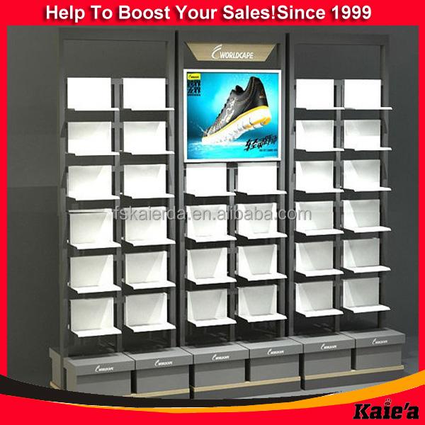 Custom-made Fashion Women Shoes Display Rack Design,Shoes Shop ...