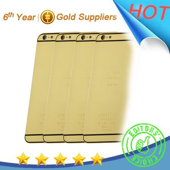 Shiny Gold Housing For Apple Iphone Phone 6 6 Plus,For Iphone 6/6 ...