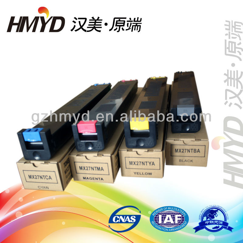 MX27CT MX27GT MX27NT MX27JT MX27FT Re-manufactured copier color toner cartridge