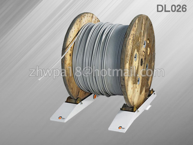 Dl026 Cable Laying Drum Roller Fiber Optic Used For Power