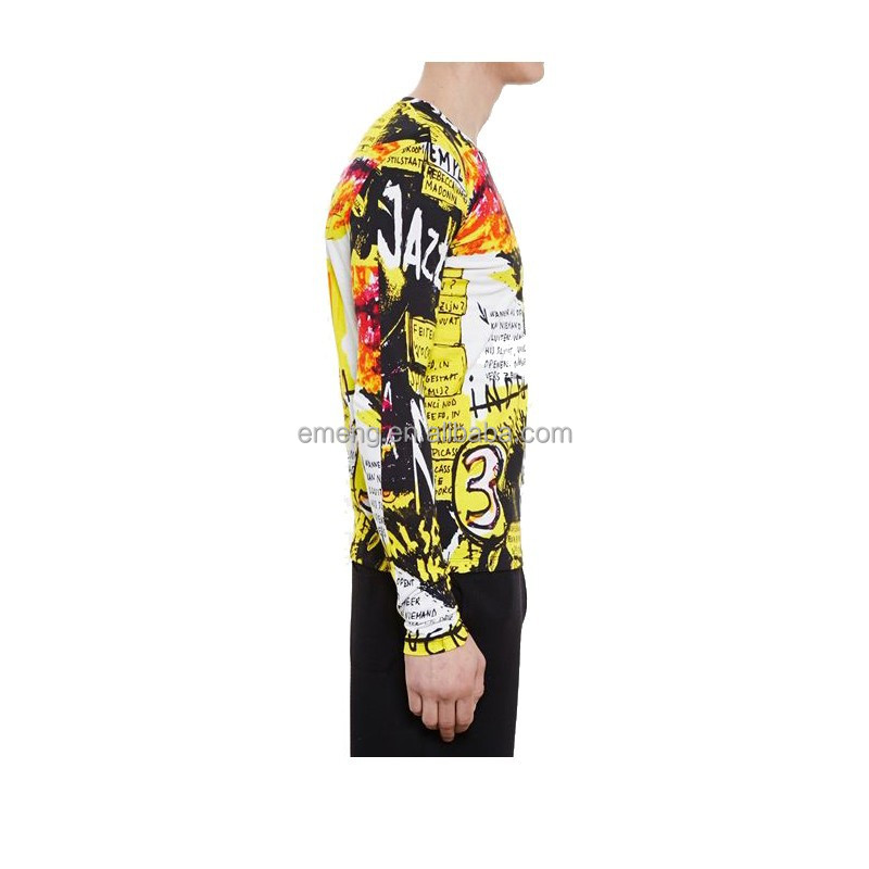 High Quality Sublimation Full Printed T-shirt/ Custom Printed T-shirt in China