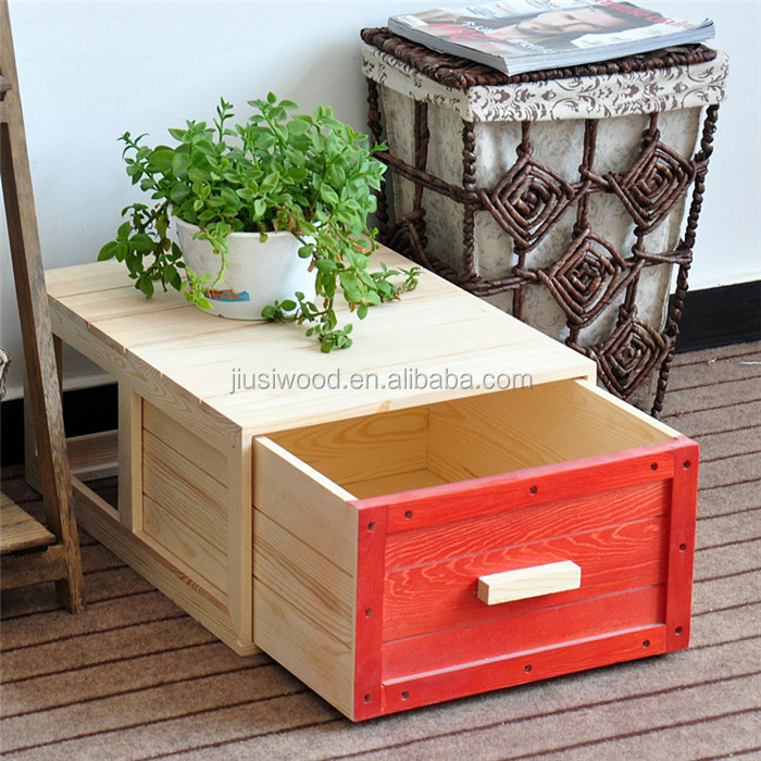 small wooden chrismas gift boxes wholesale pine wood storage box