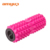 Amyup high density customized logo grid eva yoga pilates spiky foam roller with caps