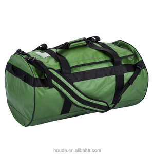 High Quality 1000D PVC Tarpaulin Waterproof Duffel Bag for Travel Hiking Camping Use
