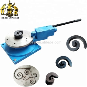DH-SW C Metal Craft Bending Tools Ornamental Scroll Universal Bender Machine