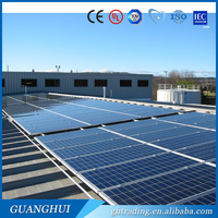 Polycrystalline Silicon Material and 1640*992*40mm Size pv solar panel 250w
