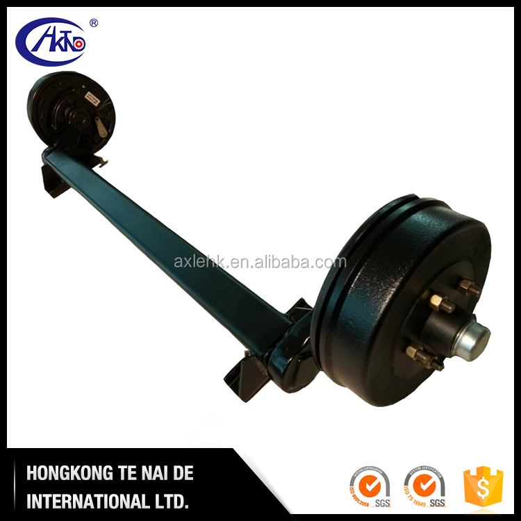 7000 lb Electric Trailer Torsion Axles with Brakes