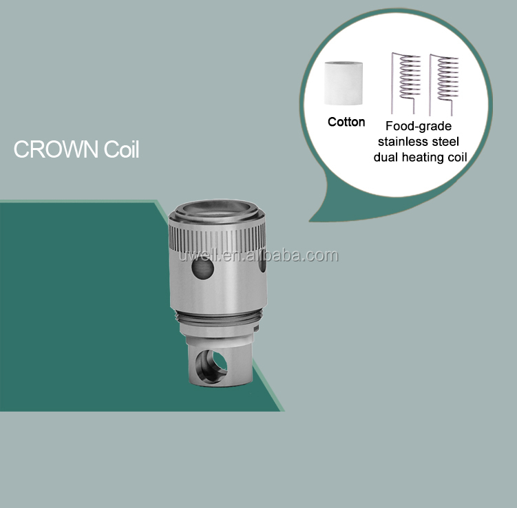 Uwell crown sub ohm tank rubber penis e cigarette newest sub tank  mechanical mod hot selling