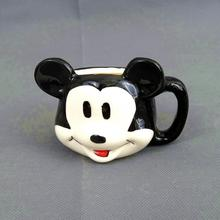 2016 new hot Mickey Mouse cartoon creative ceramic tea coffee cup ice cream cup mousse Lovely Home Supplies free shipping