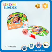 Children sport toys wholesale mini plastic basketball board set