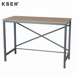 Multifunctional wooden study cum computer table furniture for students 7568C