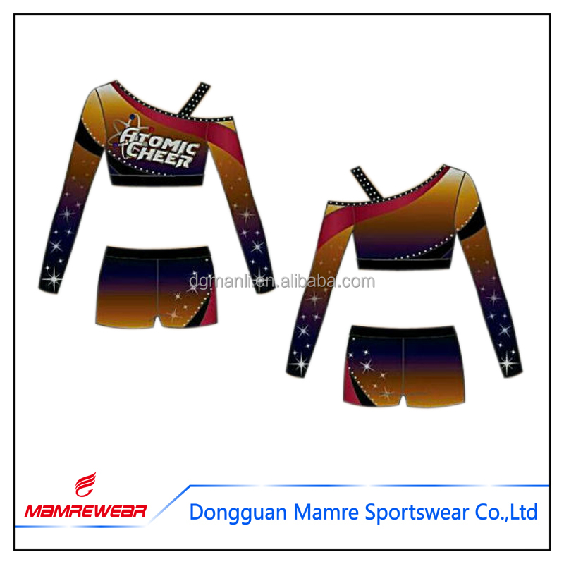 2017 clothes cheerleader for sportswear costume for kids,cheerleader uniforms