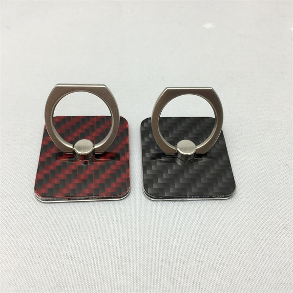 New style Real carbon fiber mobile phone ring holder