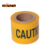 Customized colorful non-adhesive printed roadway warning tape