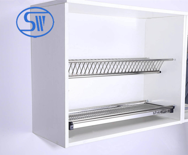 WDJ160 Waterproof kitchen bowl and plate rack kitchen cabinet stainless steel dish rack & WDJ160 Waterproof kitchen bowl and plate rack kitchen cabinet ...
