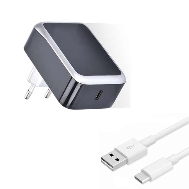 USB Type C Quick Charger 30W 5V 3A/9V 3A/12V 2.5A/20V 1.5A USB C Wall with PD Quick Charge 3.0 for Type C Sharing Devices