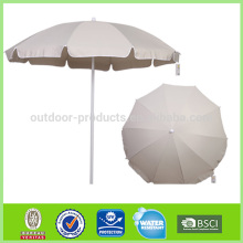 Latest designs Windproof Cheap price Wind resistant advertising beach umbrella