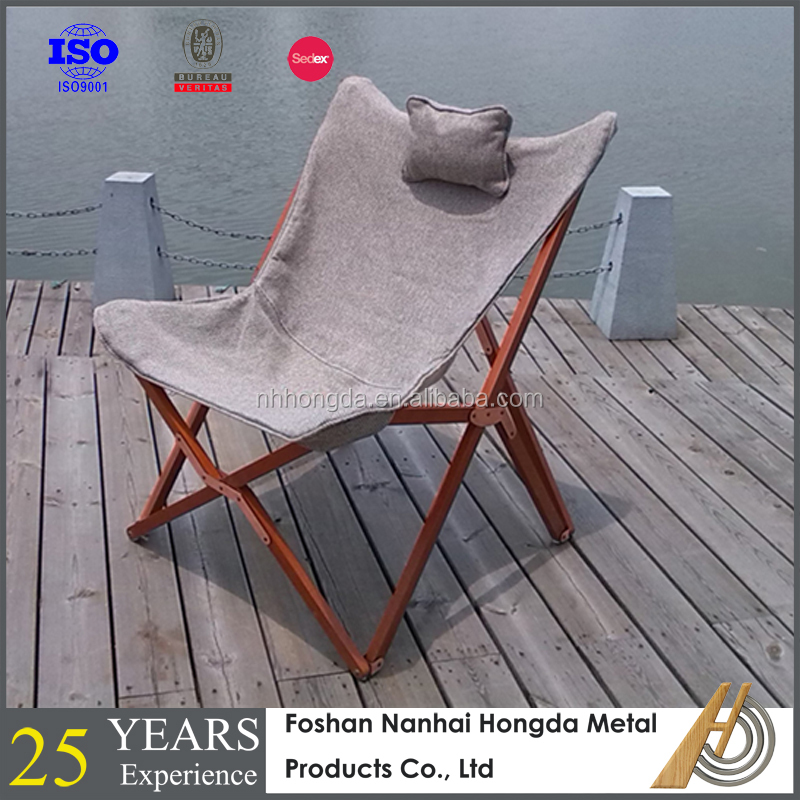 indoor&outdoor wooden folding easy chair