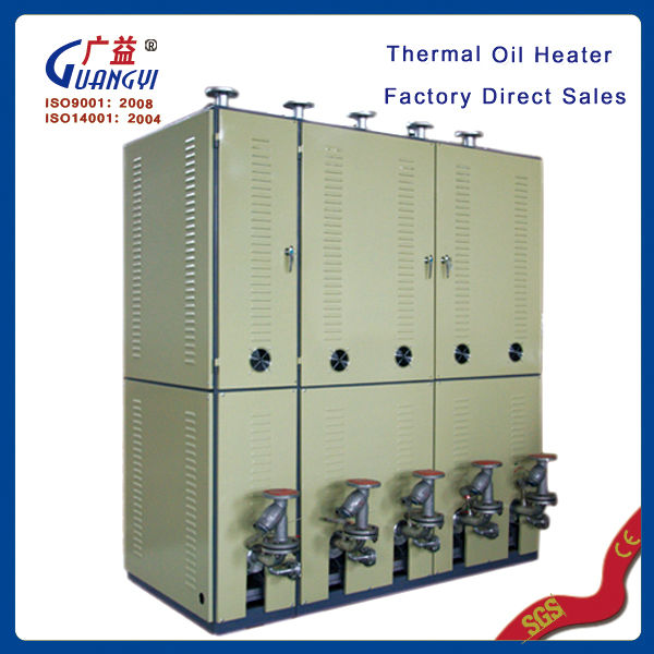 factory direct sales no pollution PID temperature controller low-pressure new industrial electrical thermal oil heating system