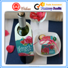 Full colour printed custom soft drink wine bottle neck hang tag for product display