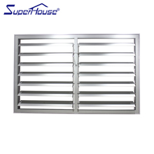 Superhouse AS2047 standard fire shutter window aluminium shutters louvre motorized exterior decorative louvers