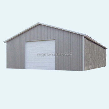 Beautiful Sandwich Panel Garage With Decorative Sheet
