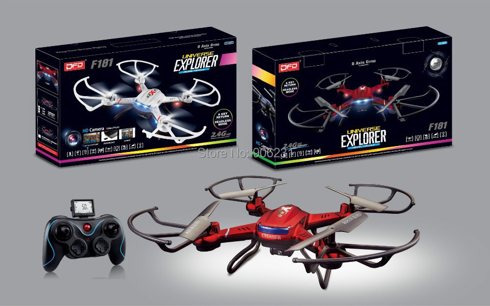 Free Shipping!Drone Syma X5C Explorers 2.4G FPV 4CH RC Quadcopter Mode 2 W/ HD