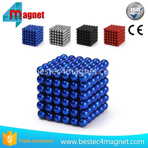 Neo Magic Puzzle Cube 5mm balls Magnet Neo Colored Magnetic Balls