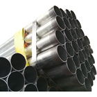 gi steel pipe & galvanized steel pipe two sides threaded one side socket & other PVC Cap protection