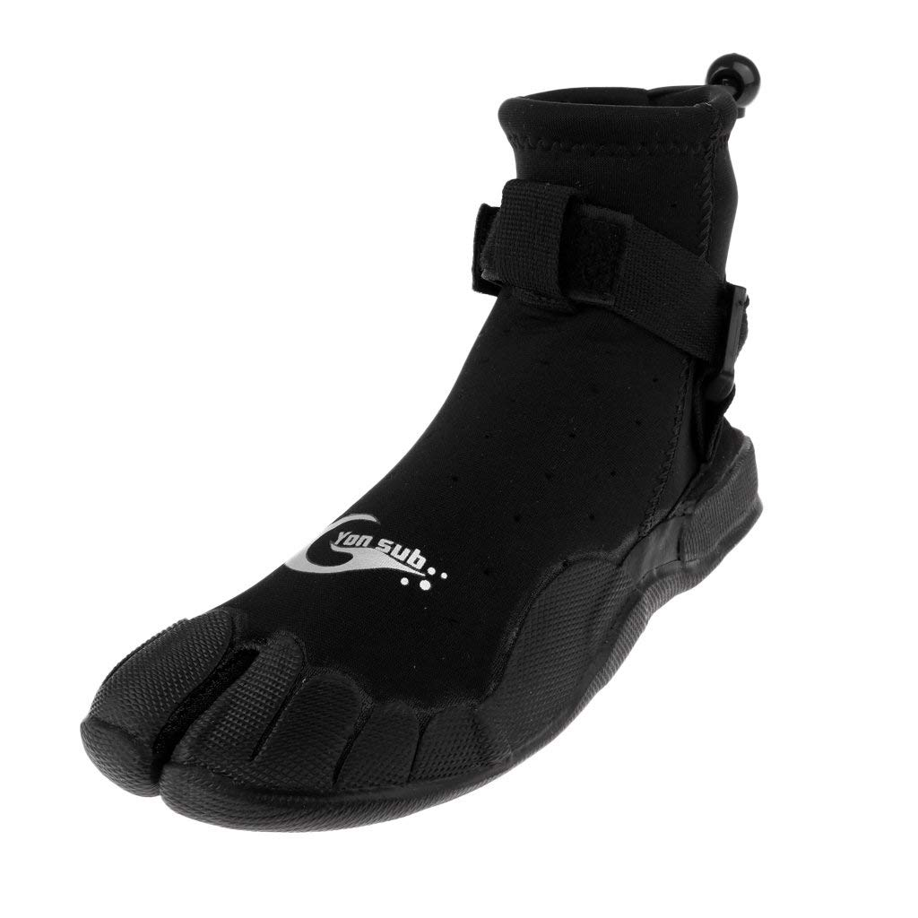 ae312a8abc Get Quotations · Homyl 3mm Neoprene Diving Anti Slip Sole Boots Dive  Surfing Kayak Wetsuit Booties Shoes