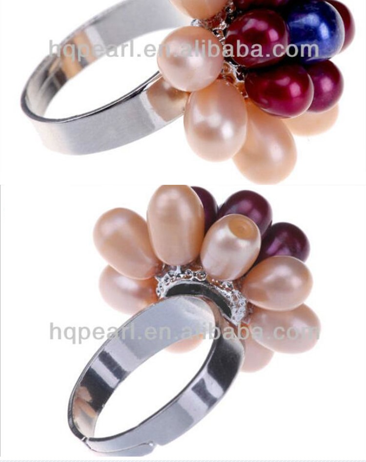 Freshwater pearl latest wedding ring designs