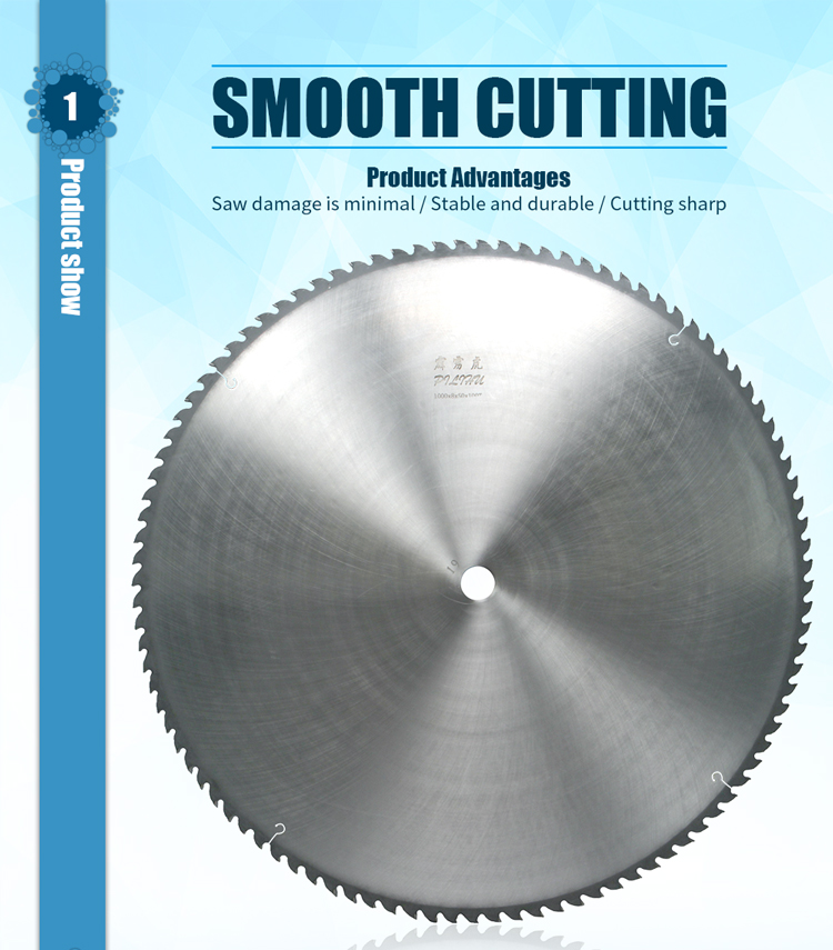 900mm TCT Big Circular Saw Blade For Cutting Meat Ice And Paper