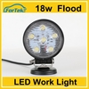 Small led work light18w led tractor light from manufactory