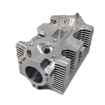 custom 6 axis cnc milling machining parts 7075 alloy billet 911 cylinder  head twin spark for race motorsport engine, View billet cylinder head, HKAA