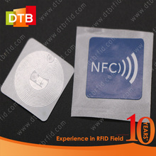 Small Cheap NFC Sticker Android RFID Reader