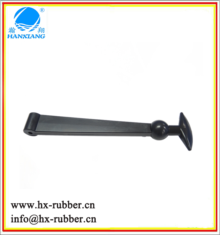 wholesale black color low price auto lock rubber latch
