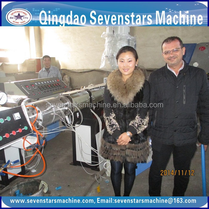 Resistance to Abrasion hdpe pipe pe pipe production line